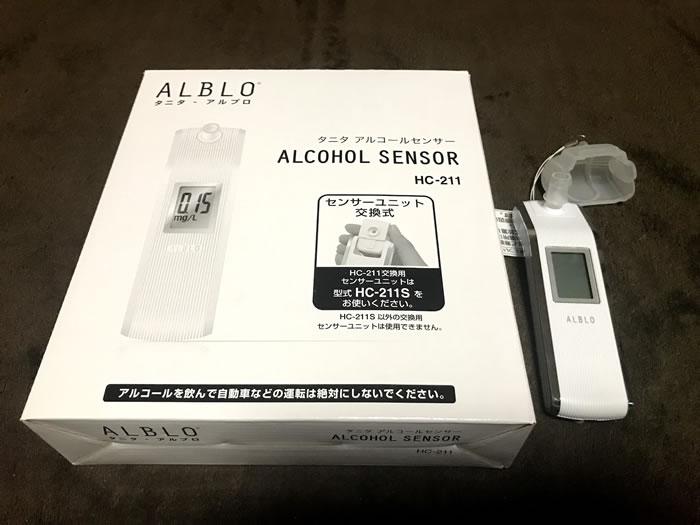 タニタ アルコールセンサー