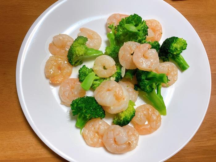 ケークサレのレシピ(炒めた後)